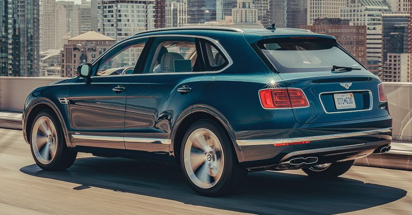 Bentley Bentayga Hybrid – new 3.0L V6, 50 km e-range Image #1021929