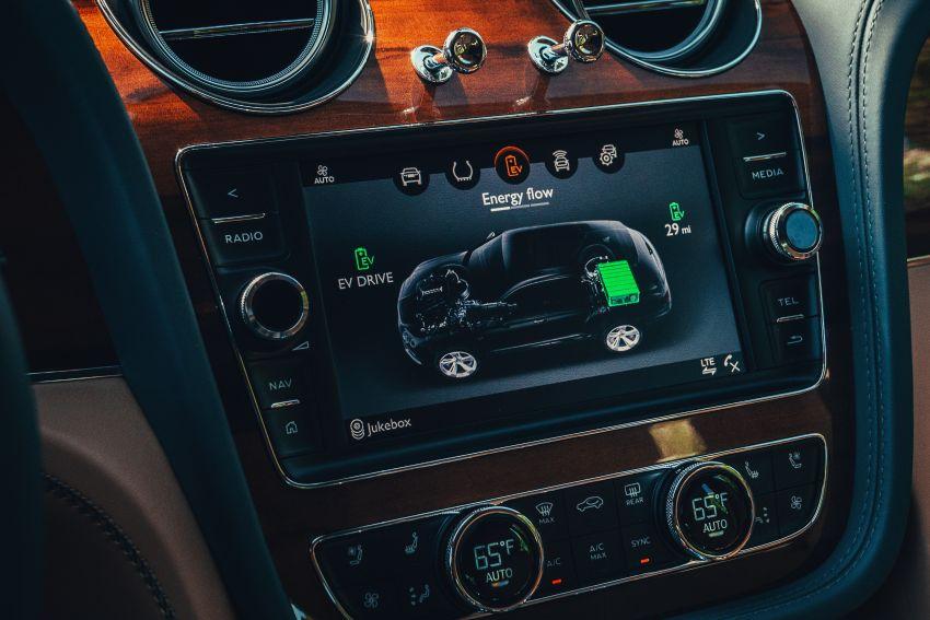 Bentley Bentayga Hybrid – new 3.0L V6, 50 km e-range Image #1021919