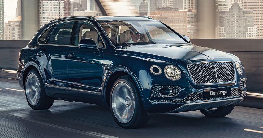 Bentley Bentayga Hybrid – new 3.0L V6, 50 km e-range Image #1021928
