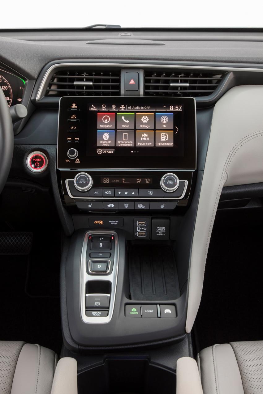 2019 Honda Insight debuts – 1.5L hybrid, 23.3 km/l Image #796229