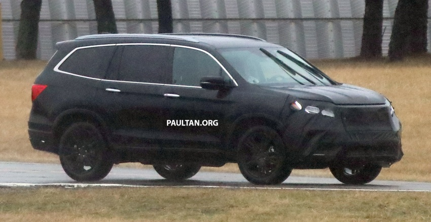 SPIED: 2019 Honda Pilot facelift spotted – eight-seat SUV to get new Insight's dual-motor hybrid system? Image #785947