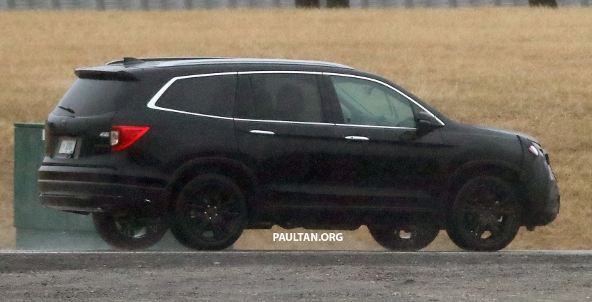 SPIED: 2019 Honda Pilot facelift spotted – eight-seat SUV to get new Insight's dual-motor hybrid system? Image #785952