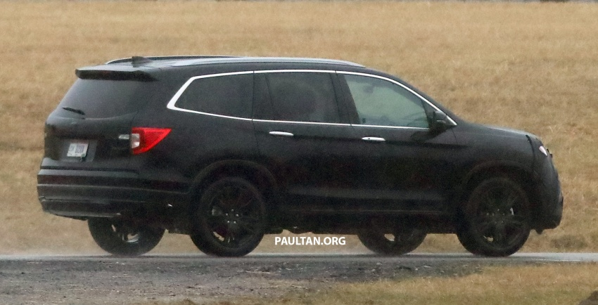 SPIED: 2019 Honda Pilot facelift spotted – eight-seat SUV to get new Insight's dual-motor hybrid system? Image #785953