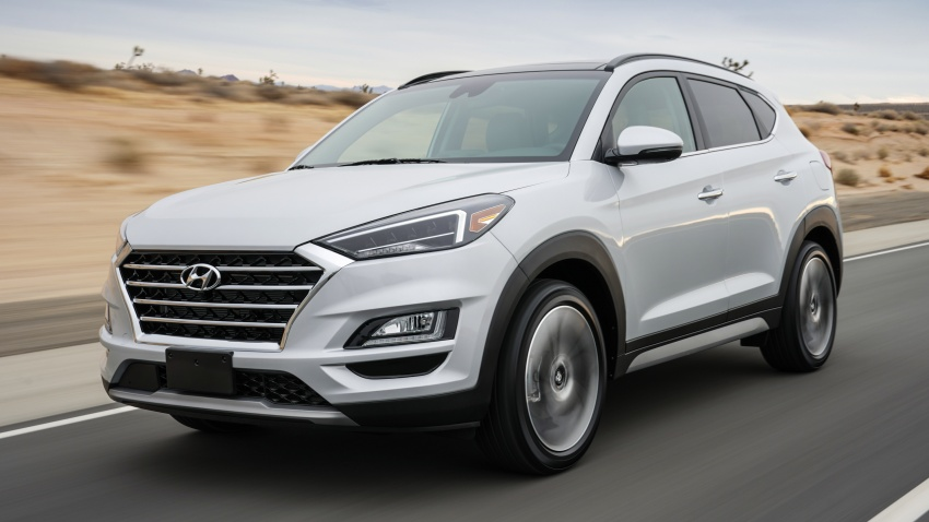 2019 Hyundai Tucson facelift drops turbo, DCT in US Image #799774