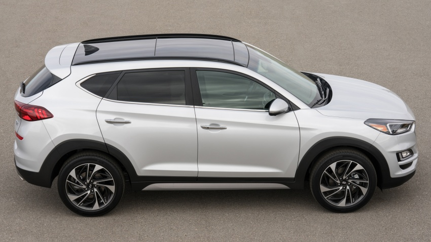 2019 Hyundai Tucson facelift drops turbo, DCT in US Image #799785