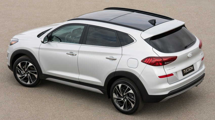 2019 Hyundai Tucson facelift drops turbo, DCT in US Image #799786