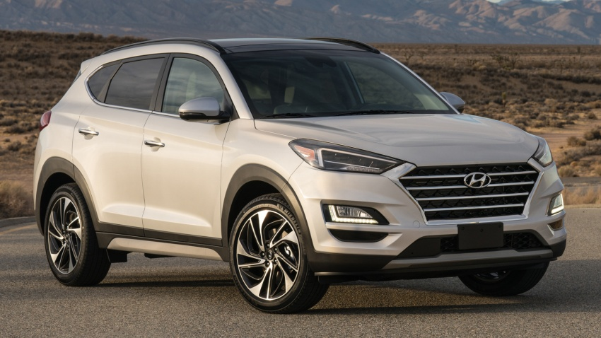 2019 Hyundai Tucson facelift drops turbo, DCT in US Image #799787