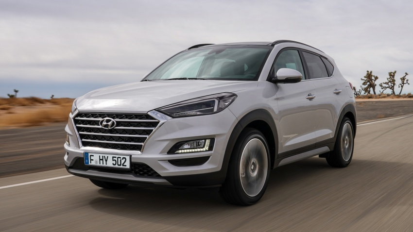2019 Hyundai Tucson facelift drops turbo, DCT in US Image #799999