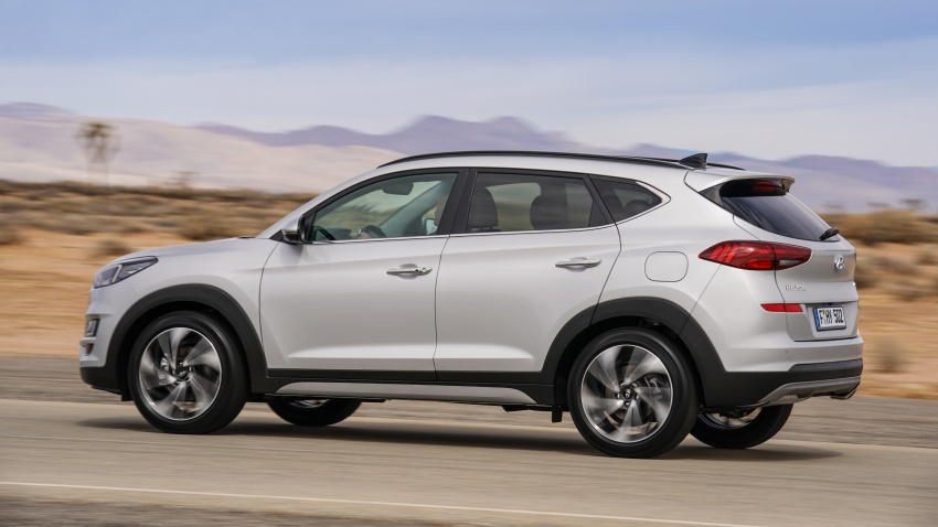 2019 Hyundai Tucson facelift drops turbo, DCT in US Image #800000
