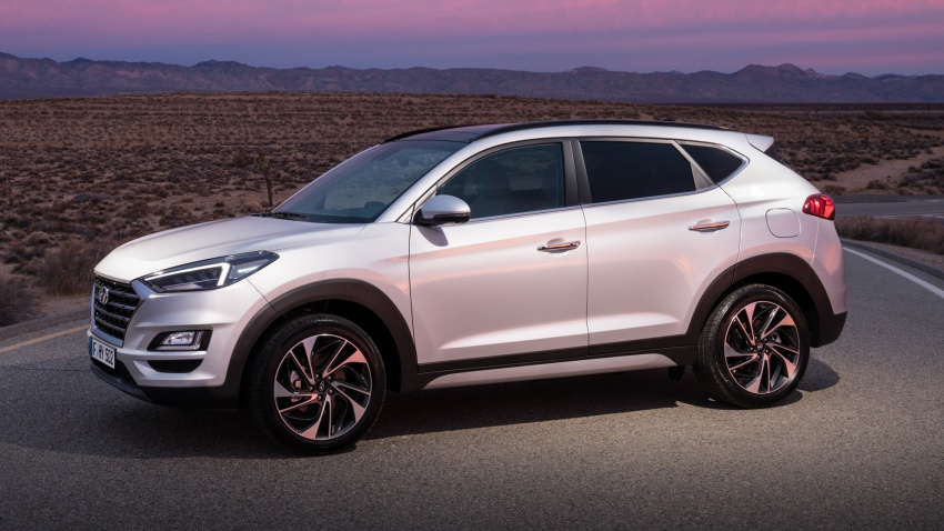 2019 Hyundai Tucson facelift drops turbo, DCT in US Image #800001