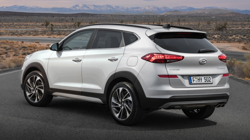 2019 Hyundai Tucson facelift drops turbo, DCT in US Image #800002
