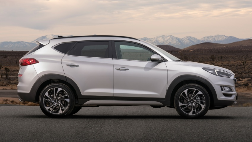 2019 Hyundai Tucson facelift drops turbo, DCT in US Image #800003