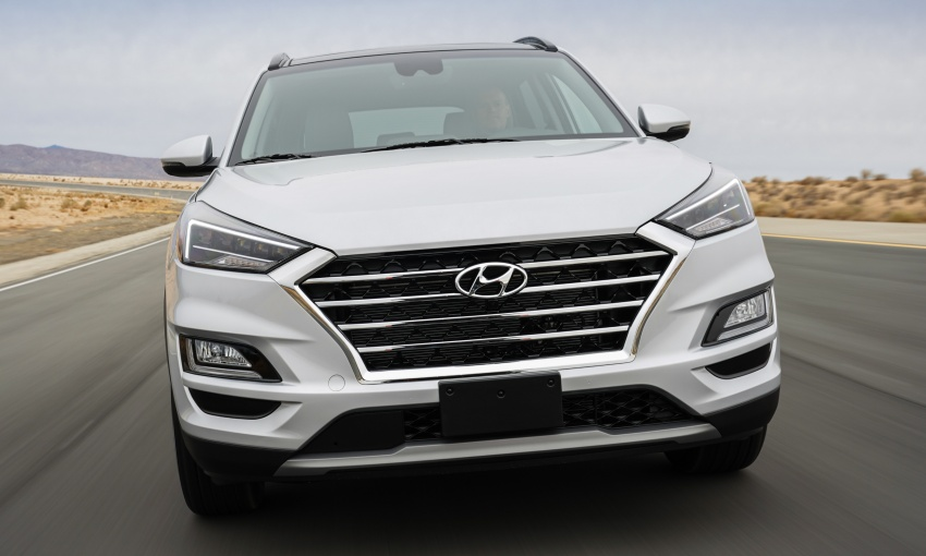 2019 Hyundai Tucson facelift drops turbo, DCT in US Image #799776