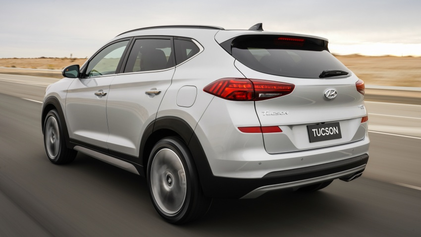 2019 Hyundai Tucson facelift drops turbo, DCT in US Image #799777