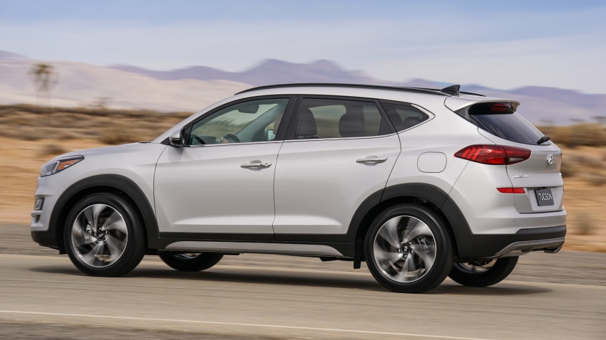 2019 Hyundai Tucson facelift drops turbo, DCT in US Image #799779