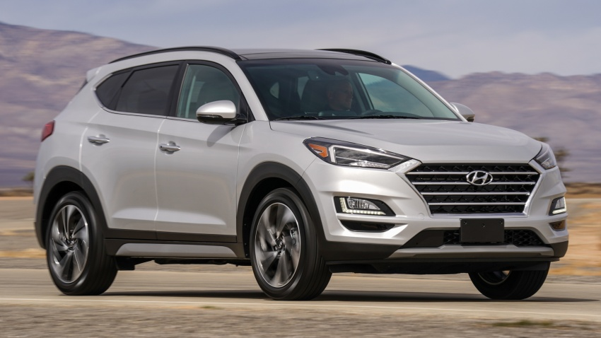 2019 Hyundai Tucson facelift drops turbo, DCT in US Image #799780