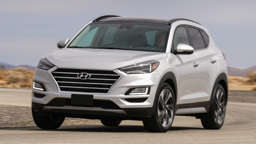 2019 Hyundai Tucson facelift drops turbo, DCT in US Image #799781