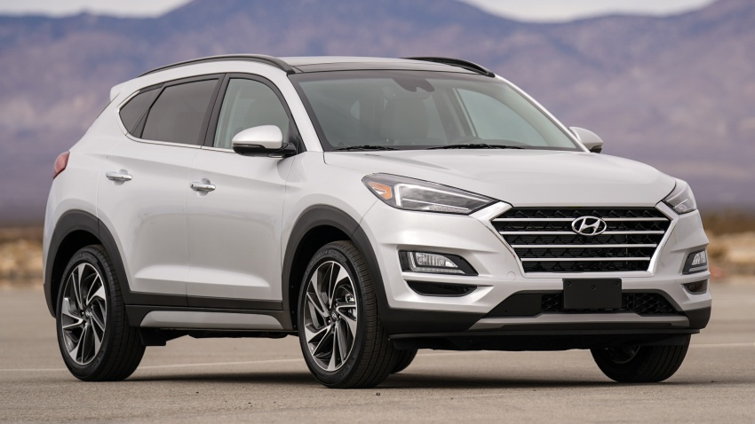 2019 Hyundai Tucson facelift drops turbo, DCT in US Image #799782