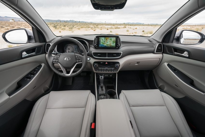 2019 Hyundai Tucson facelift drops turbo, DCT in US Image #799771
