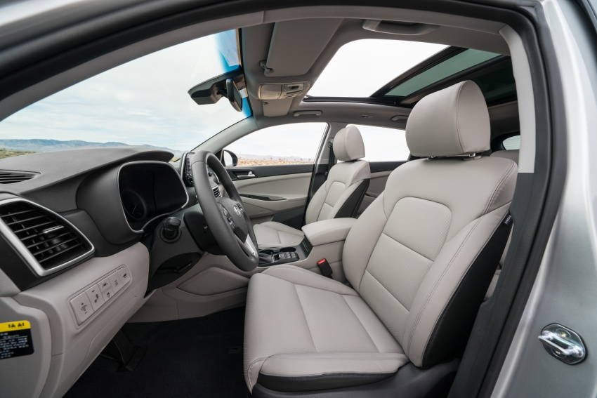 2019 Hyundai Tucson facelift drops turbo, DCT in US Image #799773