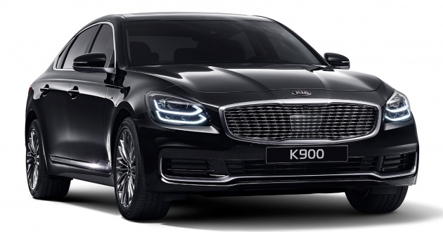 2018 Kia K900 First Images Out Brochure Leaked