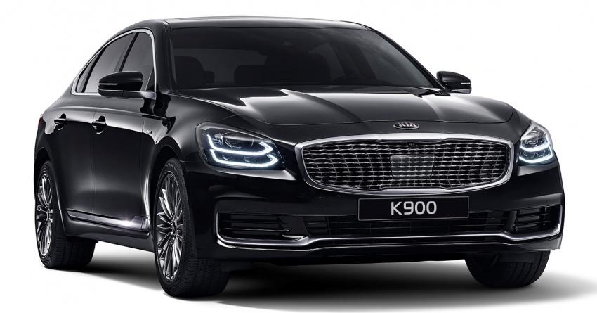 Kia K900 2018 – imej pertama disebar, perincian bocor Image #793040