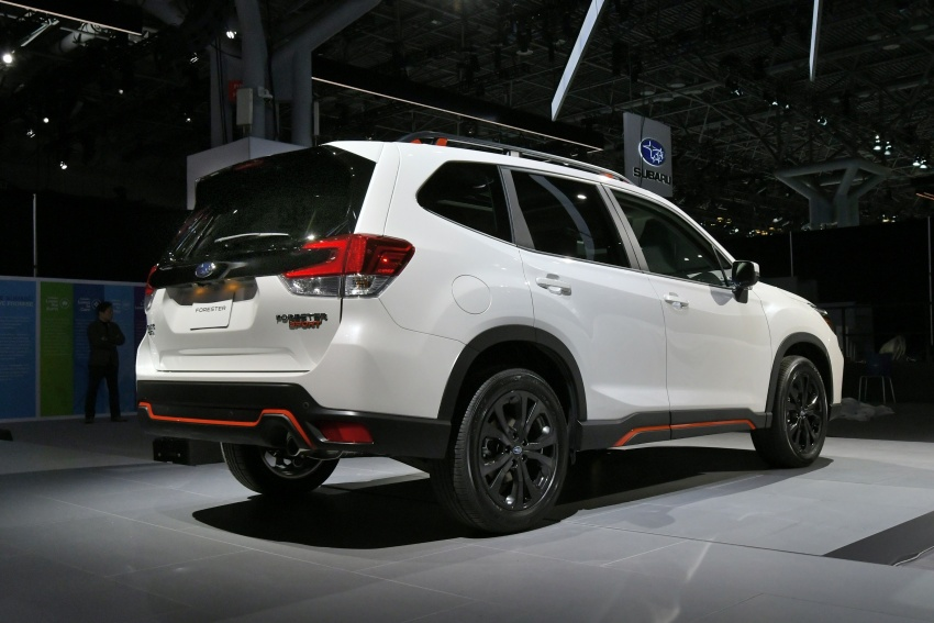 2019 Subaru Forester unveiled – more space, more technology, new 2.5 litre direct-injected boxer engine Image #798763