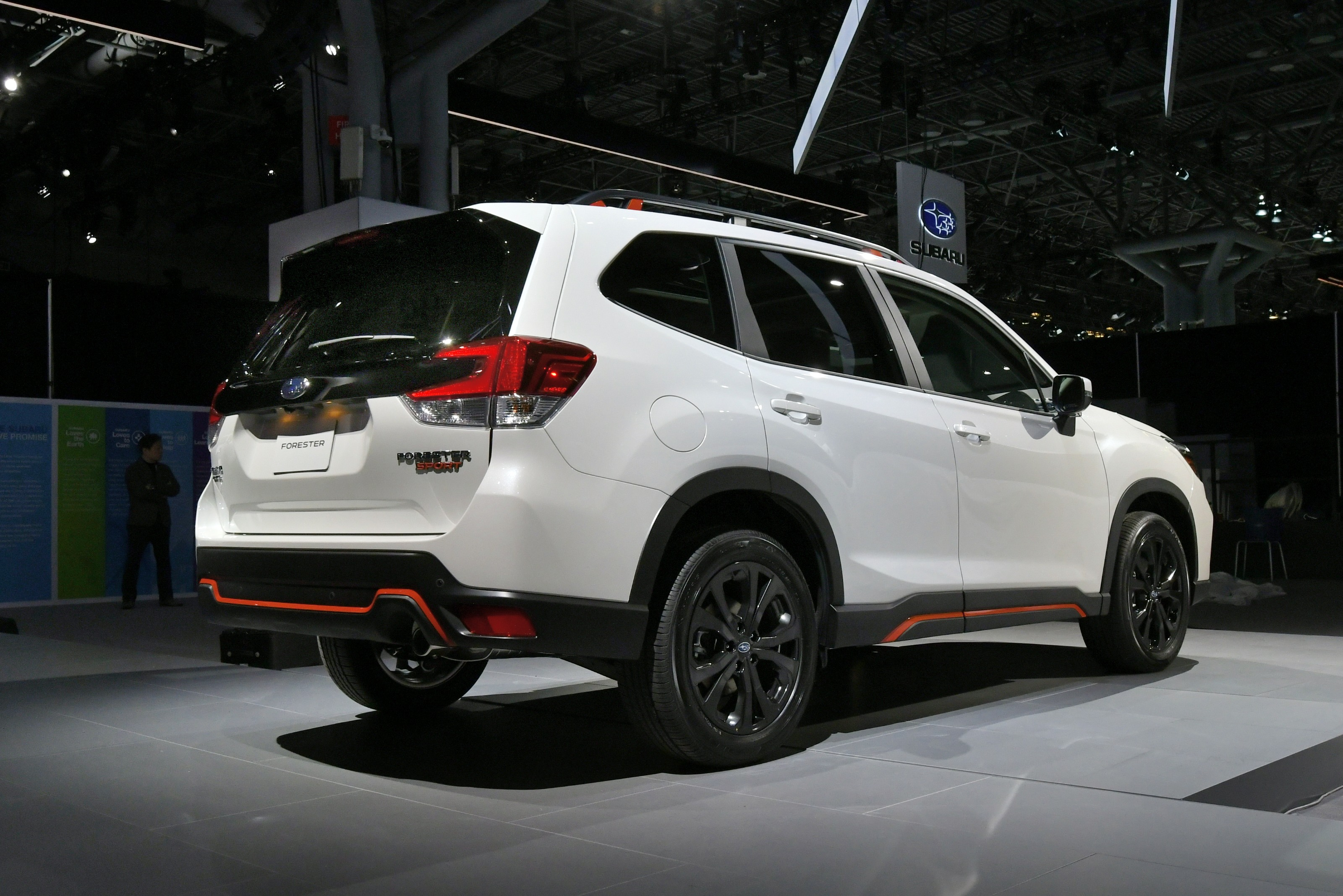 Subaru Forester 2019 Engine >> 2019 Subaru Forester unveiled – more space,  more technology