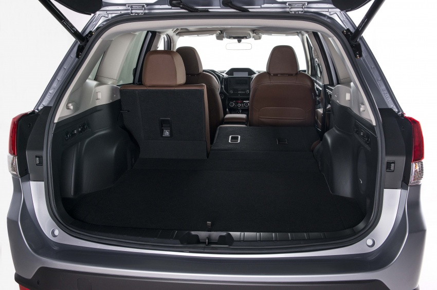 2019 Subaru Forester unveiled – more space, more technology, new 2.5 litre direct-injected boxer engine Image #798862