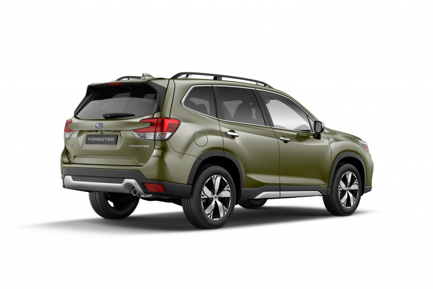 2019 Subaru Forester unveiled – more space, more technology, new 2.5 litre direct-injected boxer engine Image #798863