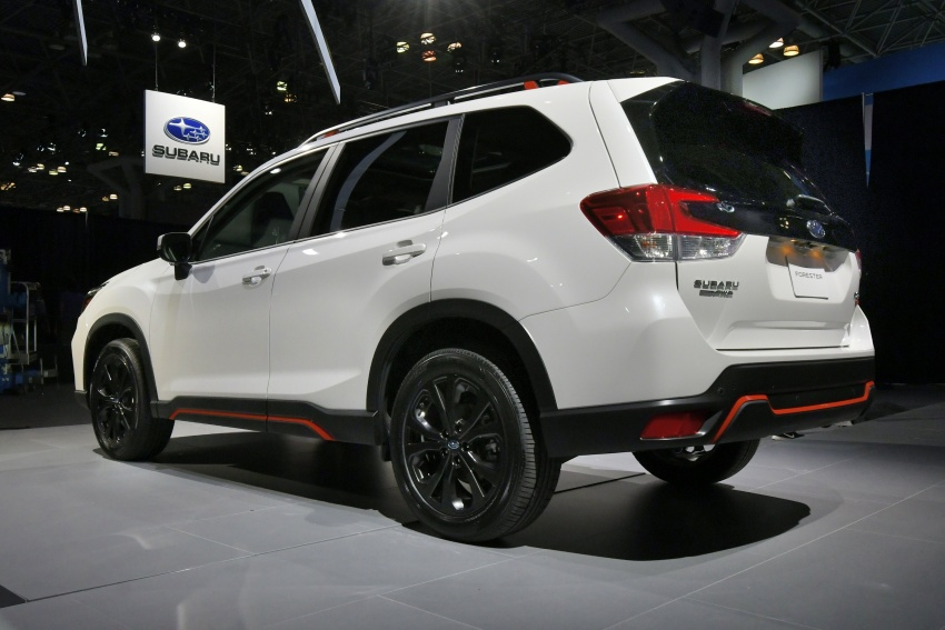 2019 Subaru Forester unveiled – more space, more technology, new 2.5 litre direct-injected boxer engine Image #798764