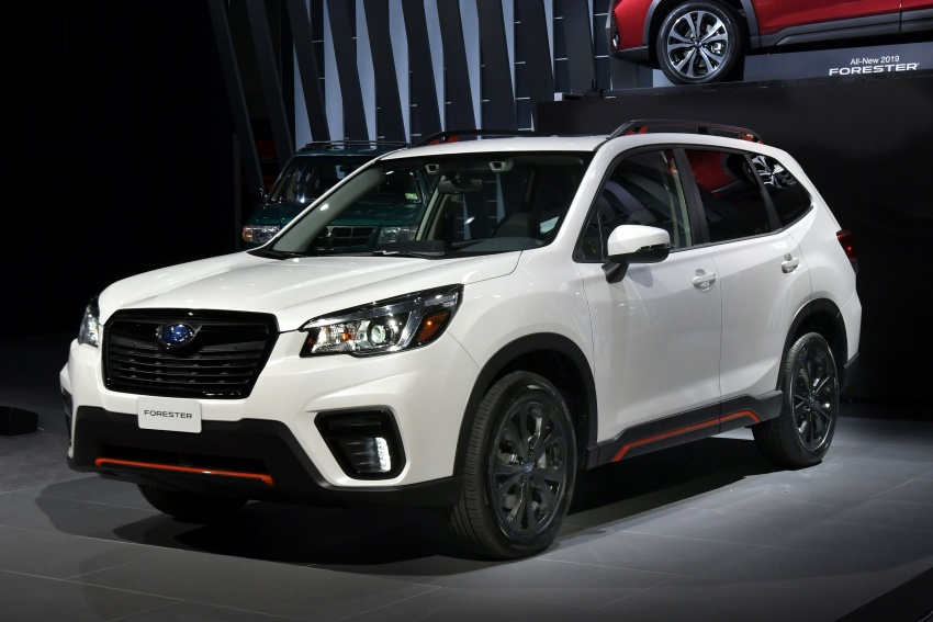2019 Subaru Forester unveiled – more space, more technology, new 2.5 litre direct-injected boxer engine Image #798765