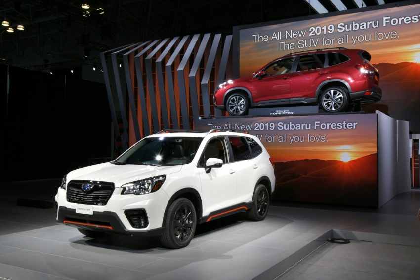 2019 Subaru Forester unveiled – more space, more technology, new 2.5 litre direct-injected boxer engine Image #798767