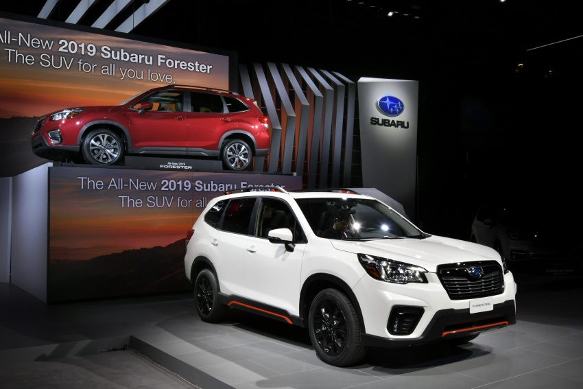 2019 Subaru Forester unveiled – more space, more technology, new 2.5 litre direct-injected boxer engine Image #798768