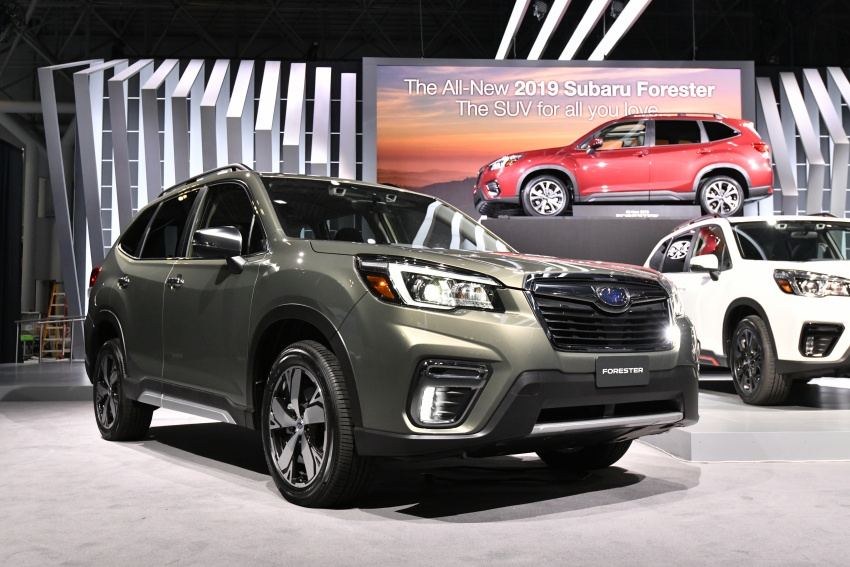 2019 Subaru Forester unveiled – more space, more technology, new 2.5 litre direct-injected boxer engine Image #798769