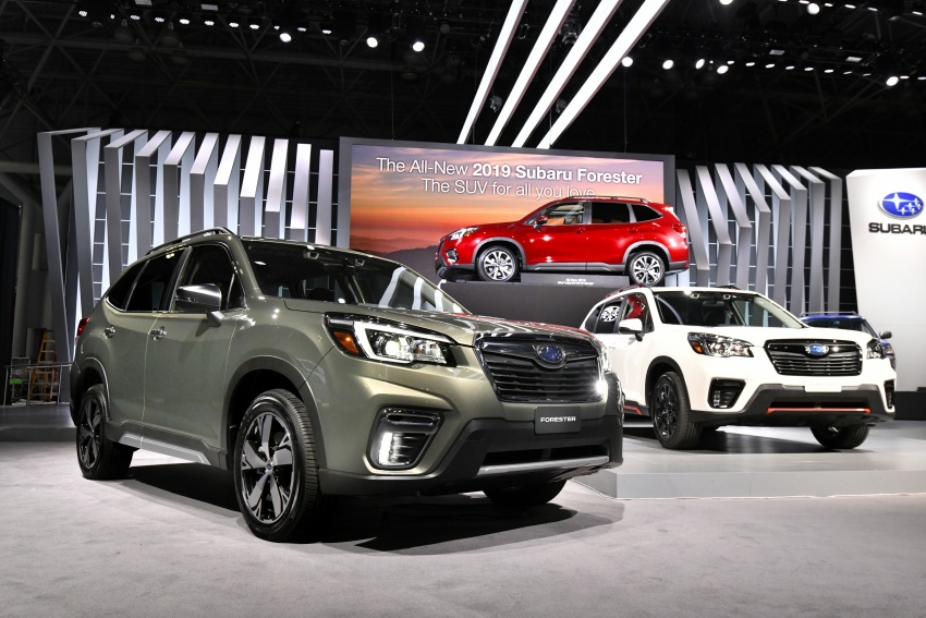 2019 Subaru Forester unveiled – more space, more technology, new 2.5 litre direct-injected boxer engine Image #798770