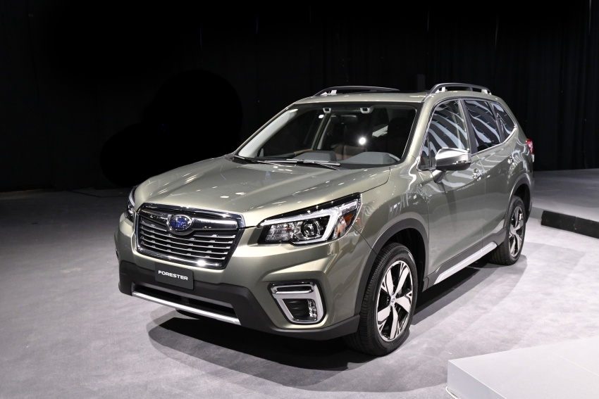 2019 Subaru Forester unveiled – more space, more technology, new 2.5 litre direct-injected boxer engine Image #798771
