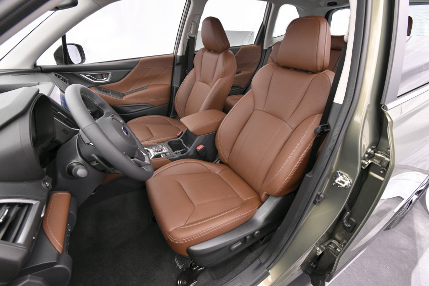 2019 Subaru Forester unveiled – more space, more technology, new 2.5 litre direct-injected boxer engine Image #798780
