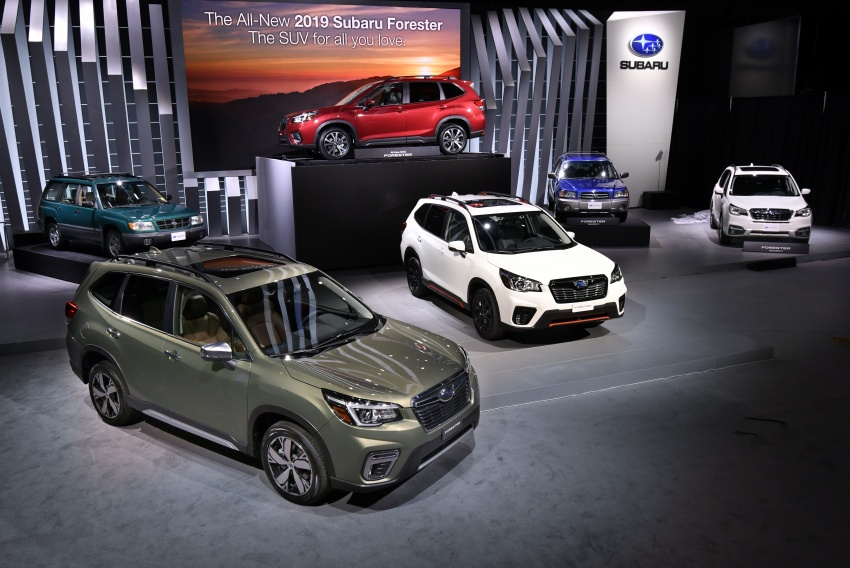 2019 Subaru Forester unveiled – more space, more technology, new 2.5 litre direct-injected boxer engine Image #798783