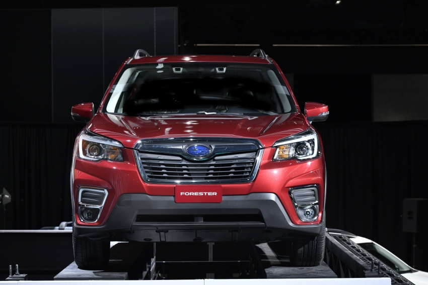 2019 Subaru Forester unveiled – more space, more technology, new 2.5 litre direct-injected boxer engine Image #798785