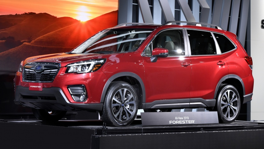 2019 Subaru Forester unveiled – more space, more technology, new 2.5 litre direct-injected boxer engine Image #798786