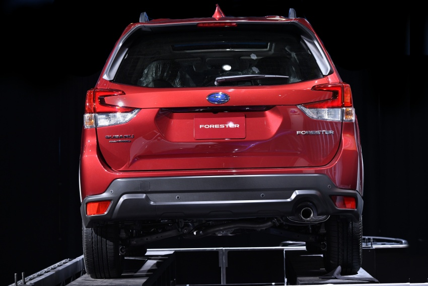 2019 Subaru Forester unveiled – more space, more technology, new 2.5 litre direct-injected boxer engine Image #798787