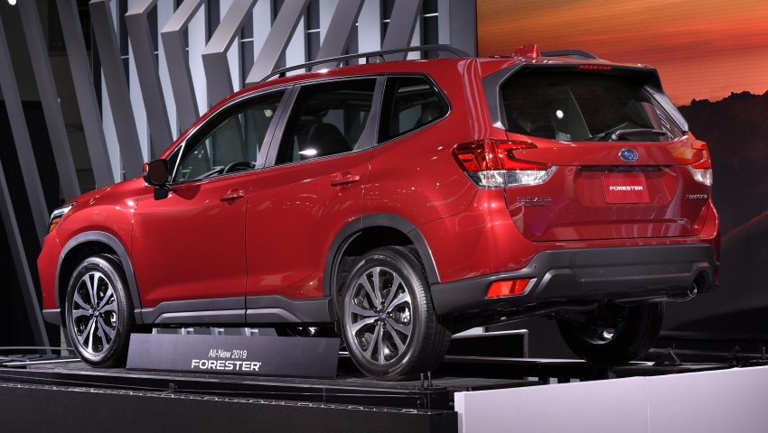 2019 Subaru Forester unveiled – more space, more technology, new 2.5 litre direct-injected boxer engine Image #798788