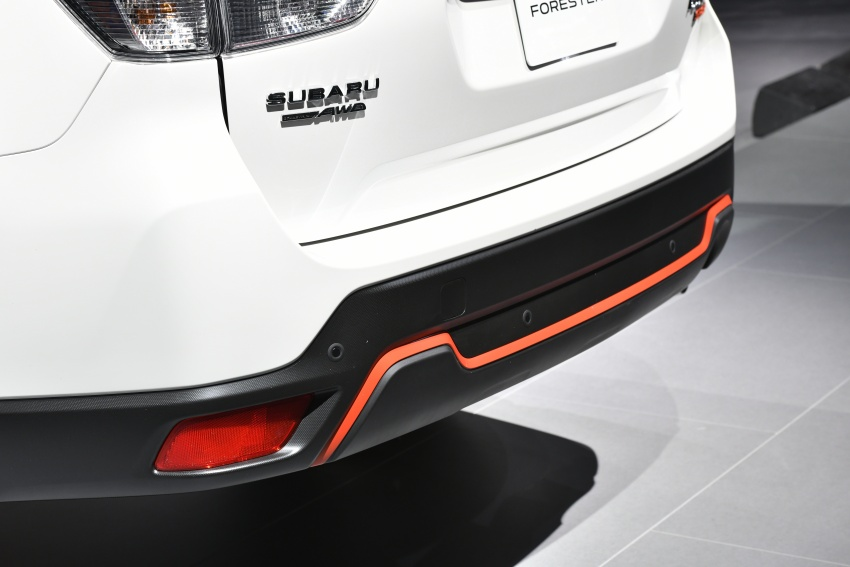 2019 Subaru Forester unveiled – more space, more technology, new 2.5 litre direct-injected boxer engine Image #798792