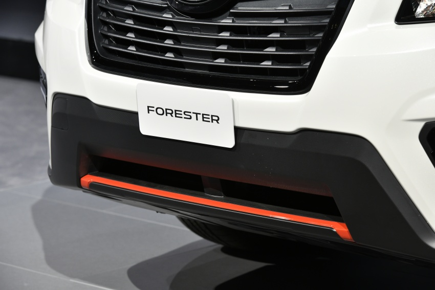 2019 Subaru Forester unveiled – more space, more technology, new 2.5 litre direct-injected boxer engine Image #798795