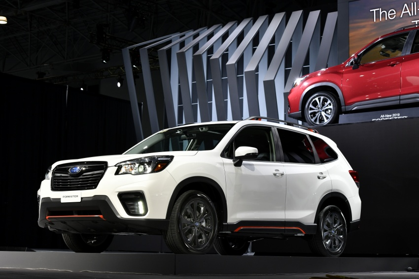 2019 Subaru Forester unveiled – more space, more technology, new 2.5 litre direct-injected boxer engine Image #798796
