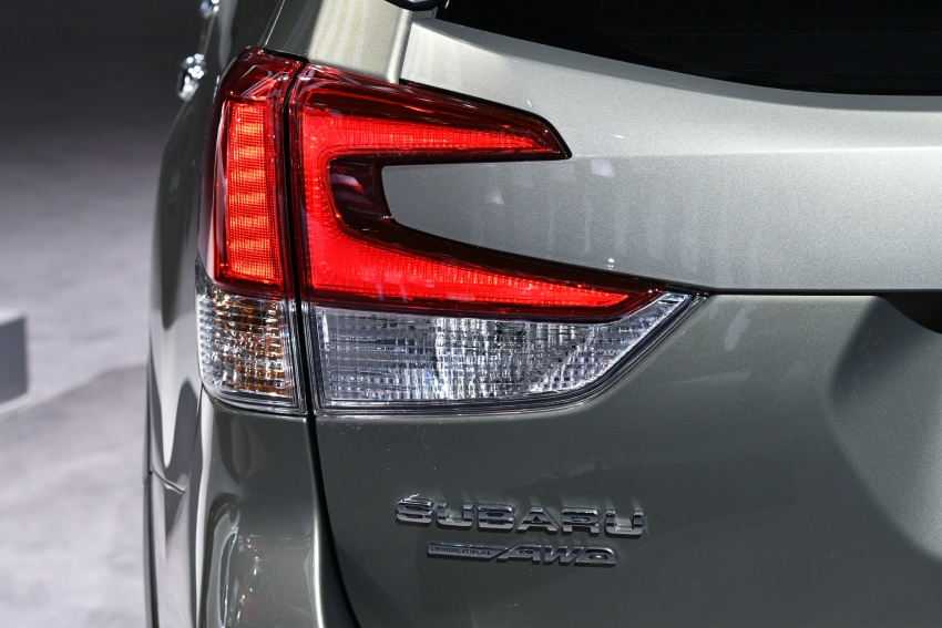 2019 Subaru Forester unveiled – more space, more technology, new 2.5 litre direct-injected boxer engine Image #798757