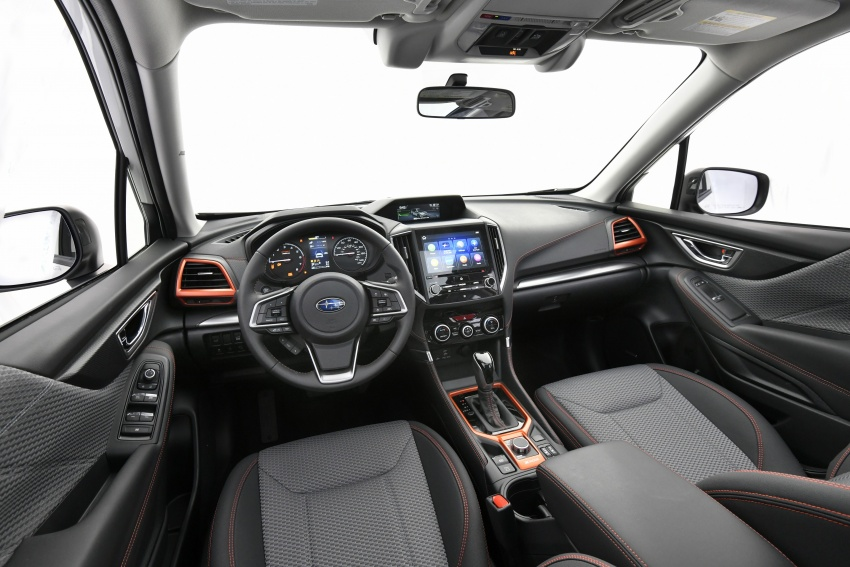 2019 Subaru Forester unveiled – more space, more technology, new 2.5 litre direct-injected boxer engine Image #798802