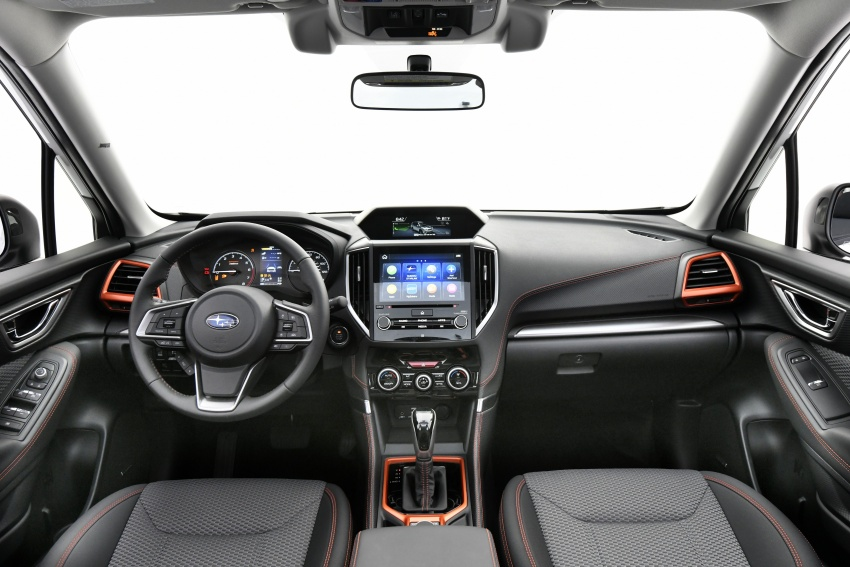 2019 Subaru Forester unveiled – more space, more technology, new 2.5 litre direct-injected boxer engine Image #798803