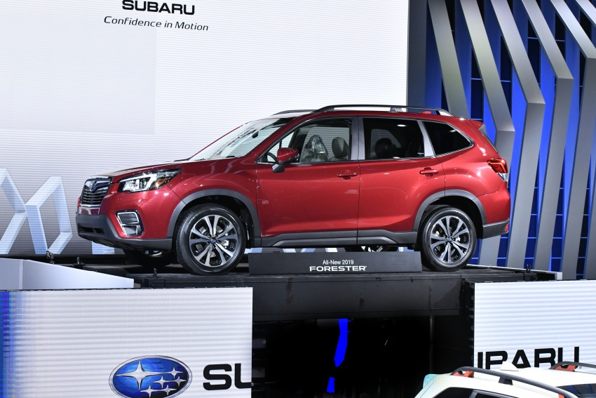 2019 Subaru Forester unveiled – more space, more technology, new 2.5 litre direct-injected boxer engine Image #798818